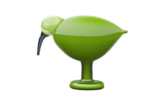 Iittala – Toikka Green Ibis by Oiva Toikka