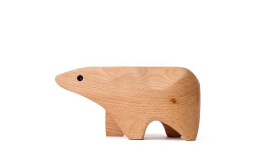 Areaware – Animal Box Polar Bear by Karl Zahn