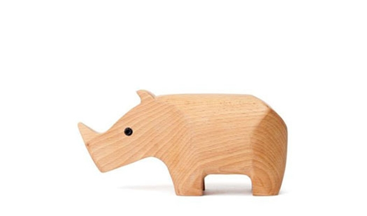 Areaware – Animal Box Rhino by Karl ZahnAnimal Box Rhino