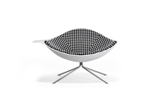 Artifort - Low Lotus Inside Upholstered Chair by René Holten