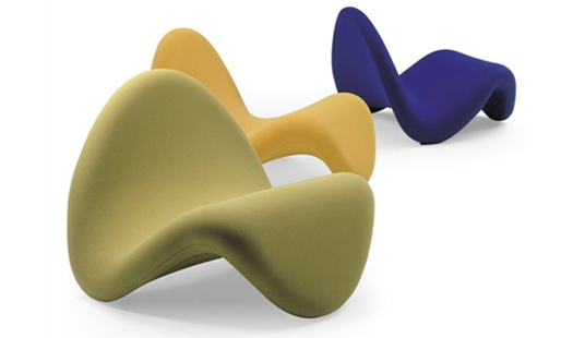 Artifort Tongue Lounge Chair By Pierre Paulin Northern