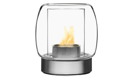 Iittala – Kaasa Fireplace 255mm Clear by Ilkka Suppanen