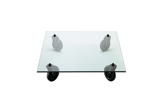 Fontanaarte tavolo con ruote by gae aulenti northern icon - Tavolo con ruote gae aulenti ...