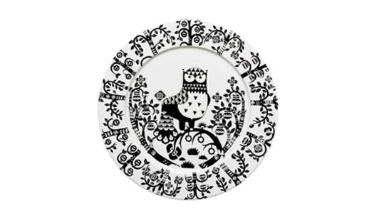 Iittala - Taika Plate Ø 30 Black by Klaus Haapaniemi