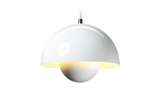 &Tradition - FlowerPot Pendant VP1 Lacquered by Verner Panton