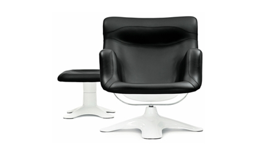 Karuselli Lounge Chair & Footstool
