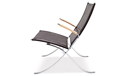 Lange Production - FK 82 X-Chair by Preben Fabricius & Jørgen Kastholm