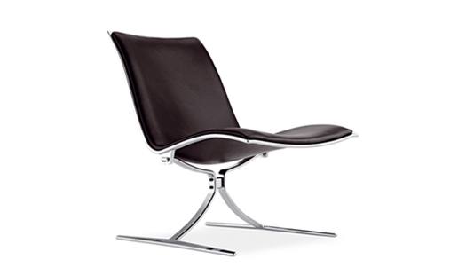 Lange Production - FK 710 Skater Chair by Preben Fabricius & Jørgen Kastholm