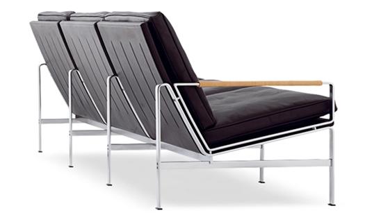 lange production fk 6720 3 three seat sofa by preben. Black Bedroom Furniture Sets. Home Design Ideas