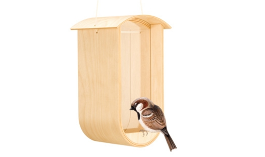 Arcamita - Feed Bird Feeder by Gary Cruce
