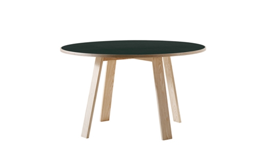 Cappellini – Bac Table Round by Jasper Morrison