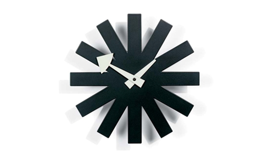 Vitra - Asterisk Wall Clock by George Nelson