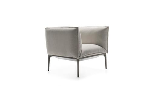 MDF Italia – Yale X - Armchair - Standard - Low Backrest by Jean Marie Massaud