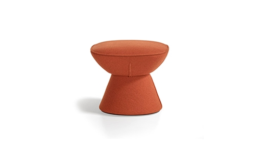 Artifort – Pala Footstool by Luca Nichetto