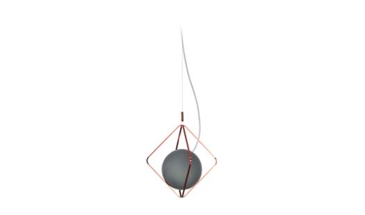 Brokis – Jack O' Lantern Single Pendant Frame S PC1101 by Lucie Koldova