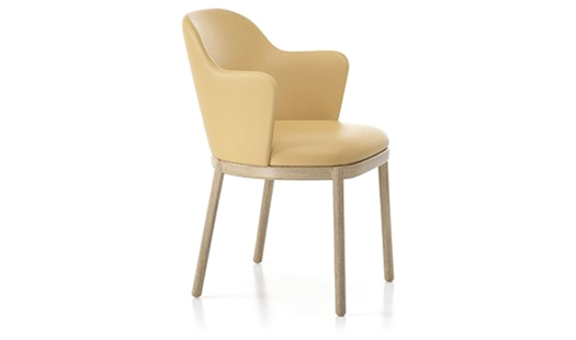 Viccarbe - Aleta Armchair Wooden Base by Jaime Hayon