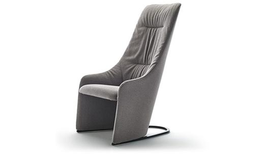 Viccarbe - Nagi High Fixed Armchair by Tomoya Tabuchi