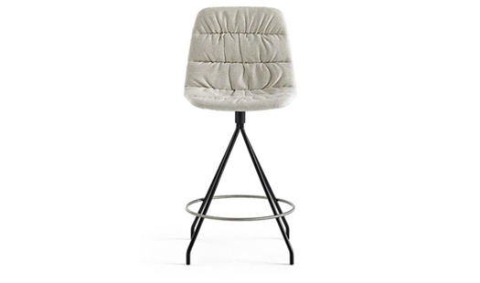 Viccarbe - Maarten Swivel Counter Stool by Victor Carrasco