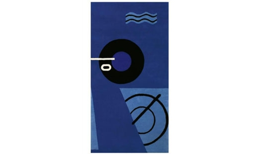 ClassiCon - Blue Marine Rug by Eileen Gray