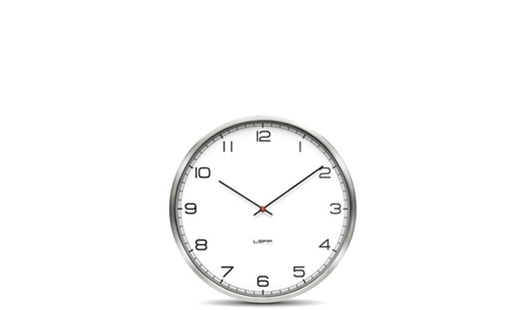 LEFF - One35rc Clock White Arabic by Wiebe Teertstra