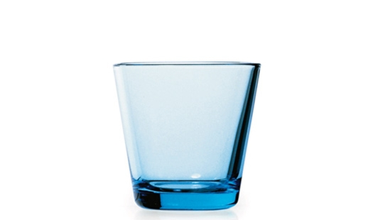 Iittala - Kartio Glass 21cl Light Blue by Kaj Franck