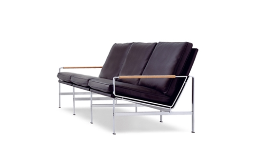 06755d1cccfa Lange Production - FK 6720-3 Three Seat Sofa by Preben Fabricius   Jørgen  Kastholm