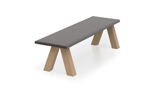 Viccarbe Trestle Bench By John Pawson Northern Icon