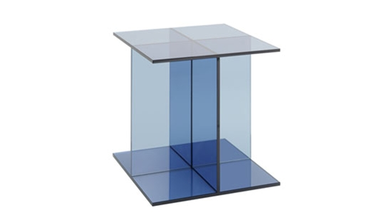 E15 - CT08 Vier Glass Side Table by Philipp Mainzer