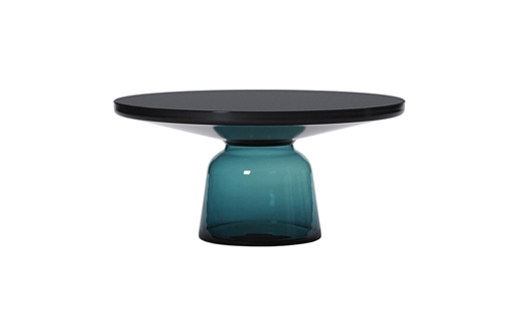 Bell Coffee Table Black Burnished Steel