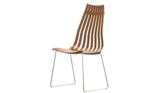 Fjordfiesta - Scandia Prince Highback Stacking Chair by Hans Brattrud