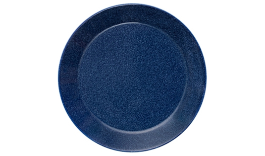 Teema Plate 21cm Dotted Blue