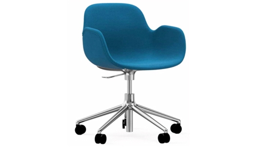 Form Armchair Swivel with Castors