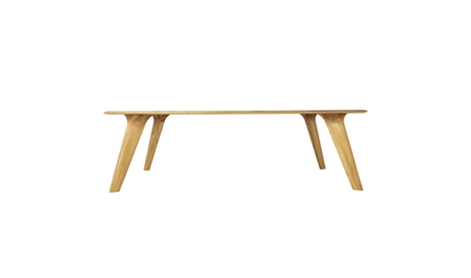 Lange Production - Wing Table Rectangular by Christian Haack Ketelsen