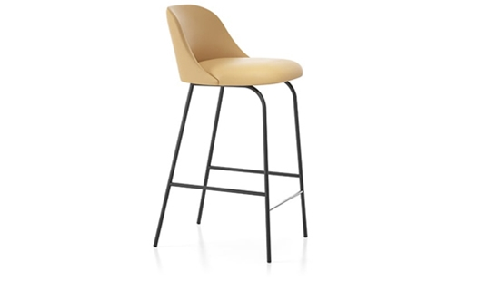 Viccarbe - Aleta Counter Stool Low-back by Jaime Hayon