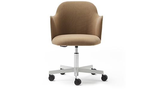 Viccarbe - Aleta Chair Armrests Caster Base by Jaime Hayon