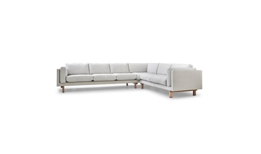 Erik Jørgensen - Pure Elements Sofa EJ 280 by Erik Jørgensen Design Team