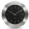 LEFF - Bold55 Clock Black by Wiebe Teertstra
