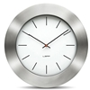 LEFF - Bold55 Clock White by Wiebe Teertstra