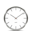 LEFF - One45 Clock White Index by Wiebe Teertstra