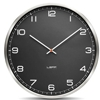 LEFF - One55 Clock Black Arabics by Wiebe Teertstra