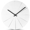 LEFF - Scope Clock White by Erwin Termaat