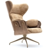 Bd Barcelona - Lounger Walnut Shell by Jaime Hayon