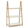 Normann Copenhagen - One Step Up Bookcase Low  by Francis Cayouette