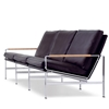 Lange Production - FK 6720-3 Three Seat Sofa by Preben Fabricius & Jørgen Kastholm