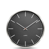 LEFF - One45 Clock Black Index by Wiebe Teertstra