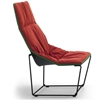 Viccarbe - Ace Steel Base Lounge by Jean-Marie Massaud