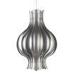 Verpan - Onion Pendant Large Silver  by Verner Panton