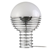 Verpan - Wire Lamp Small White  by Verner Panton
