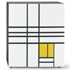 Cappellini – Homage to Mondrian by Shiro Kuramata