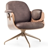 Bd Barcelona - Low Lounger Walnut by Jaime Hayon